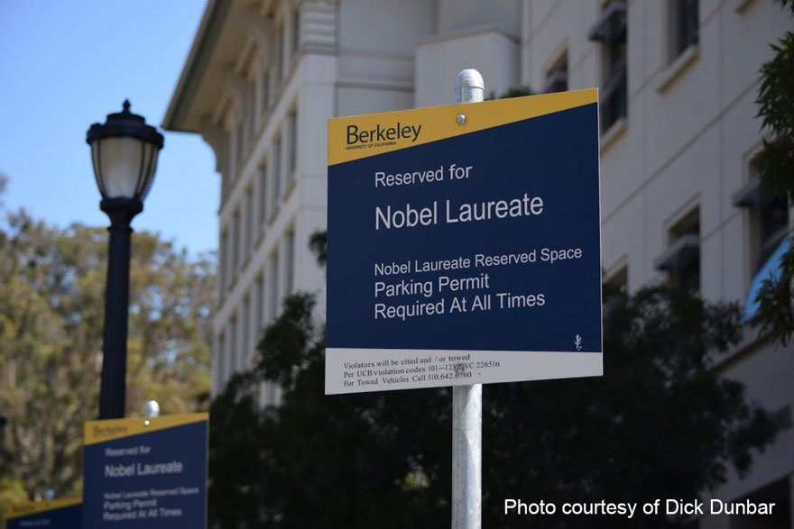 UC Berkeley Nobel Laureate Parking