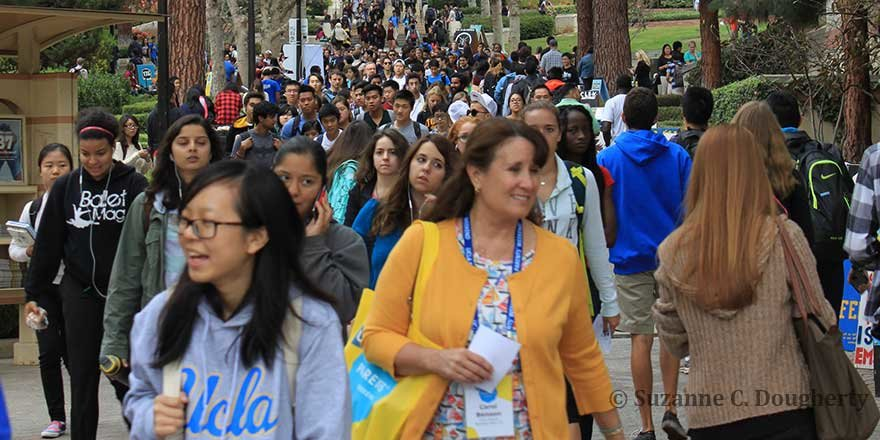 UCLA Parents weekend