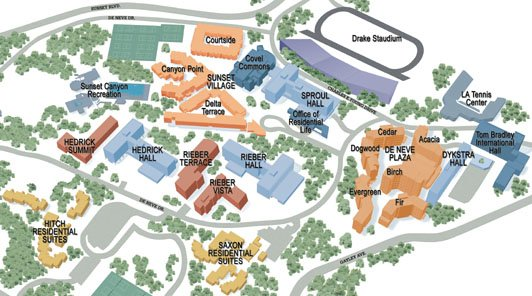 What's the best UC housing for freshmen on each campus?